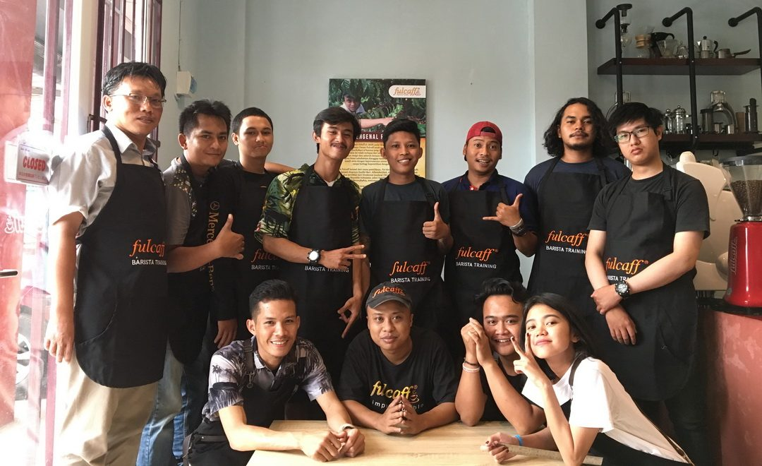 Fulcaff Barista Training Batch 106