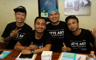 Serunya Fulcaff Latte Art Throwdown