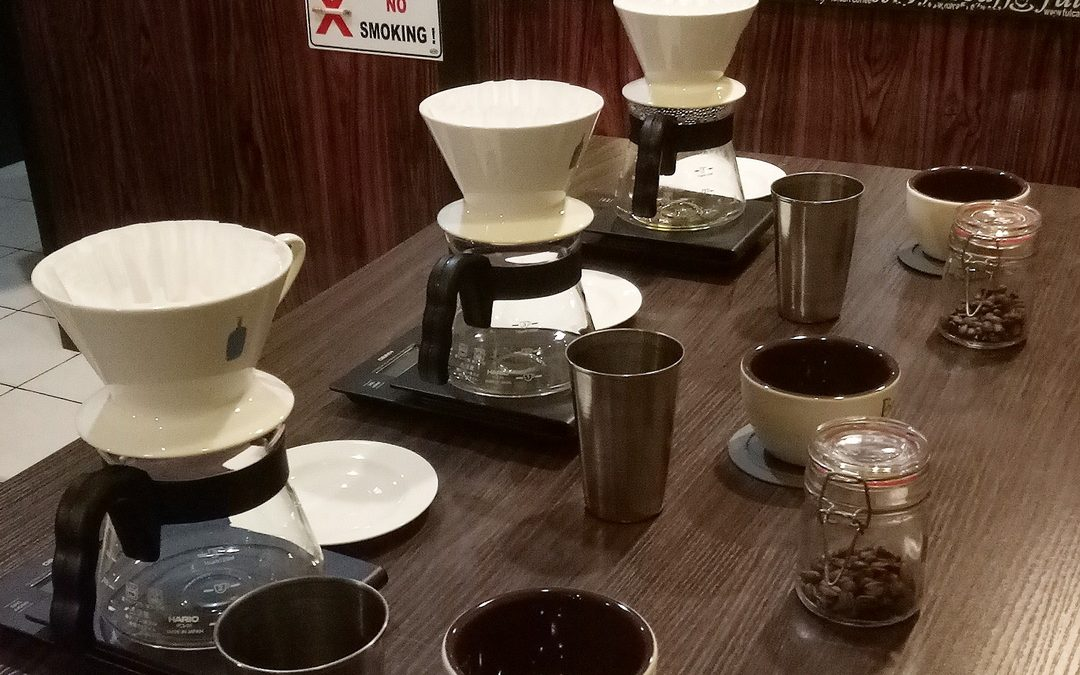 Manual Brew PRO Class 21 sd 22 Juli 2018 FREE Hario V60