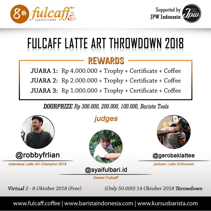 FULCAFF LATTE ART THROWDOWN 2018
