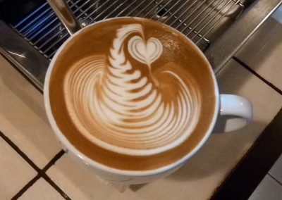 LATTE ART by Owner Fulcaff SYAIFUL BARI