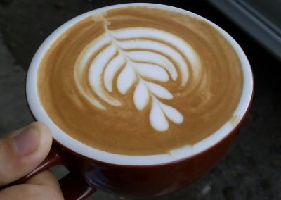 Fulcaff Latte Art Class poured by Syaiful Bari