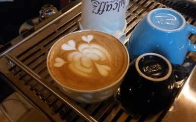 Fulcaff Latte Art Class April 2017