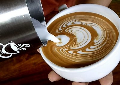 Fulcaff Espresso Machine and Latte Art Training by Syaiful Bari